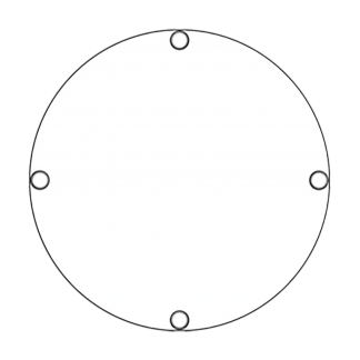 TS40 Flashing Circular sign day