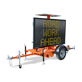 MB9757 Hydraulic Trailer Mounted Message Board