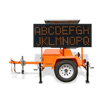 MB8235WT Winch Trailer Mounted Message Board