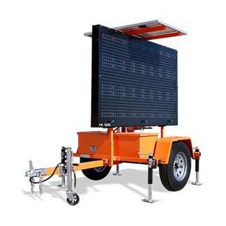 Hydraulic Trailer Mounted Message Boards