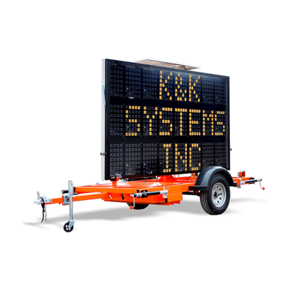 MB3L Hydraulic Trailer Mounted Message Board