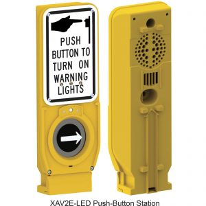 XAV2E LED push button stations