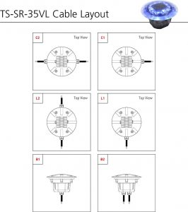 TS-SR-35VL cable layout
