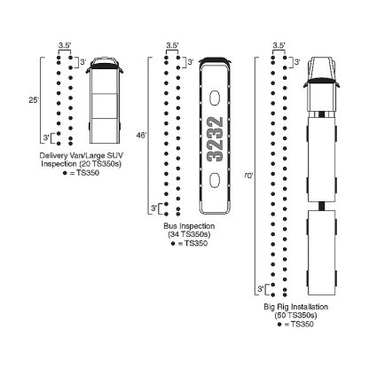 TS-350 layout diagram