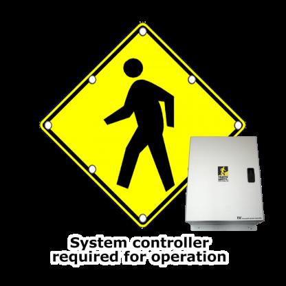 TS30 Flashing LED Edge Lit Sign