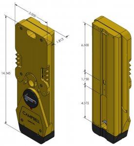 Guardian APS Audio Caution Push Button Station